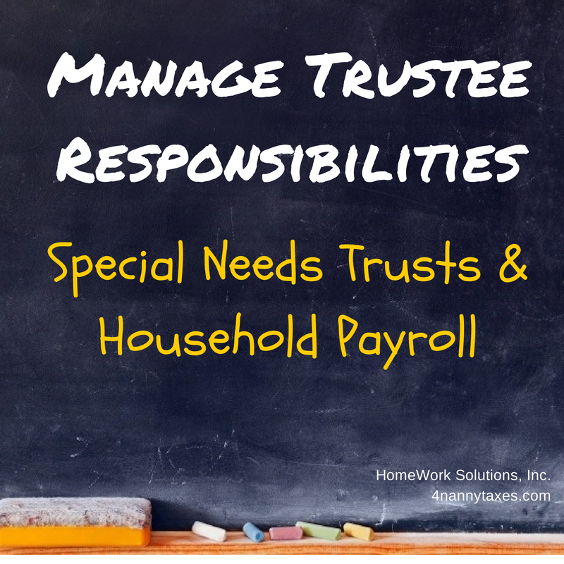 Manage Trustee Risks Household Employment