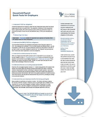 california domestic worker bill of rights employer facts