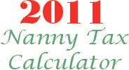 2011 nanny payroll tax calculator