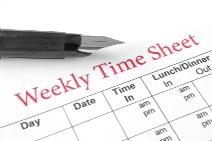 Nanny time sheet sm
