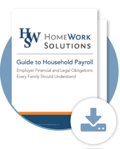 Nanny Payroll Quick Start Guide