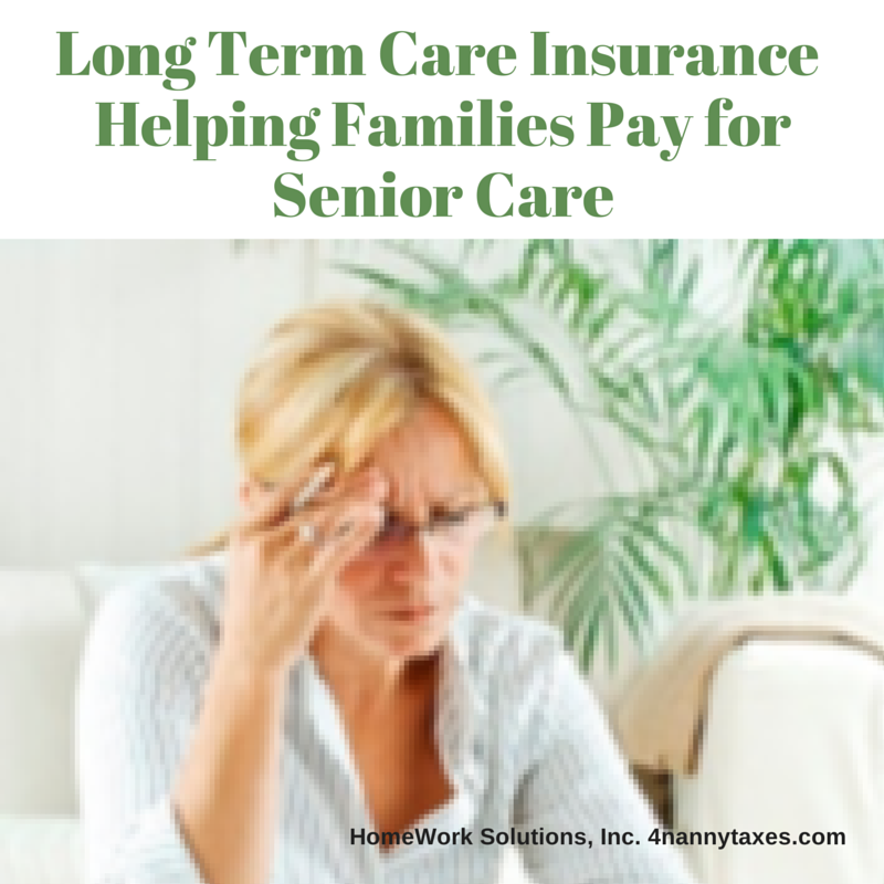 Long Term Care Insurance Helping Families Pay for Senior Care
