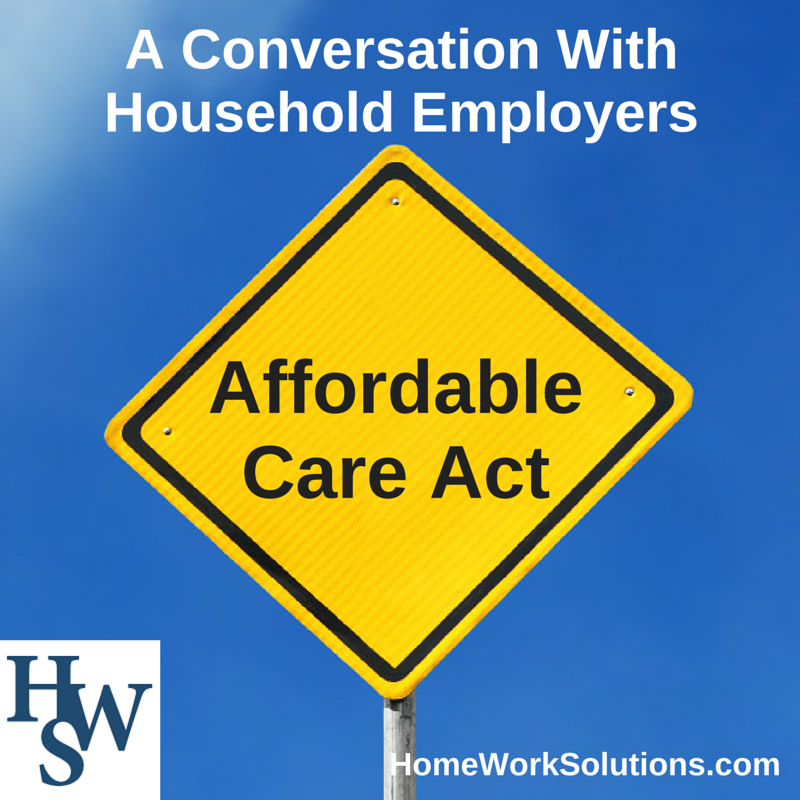household employment affordable care act