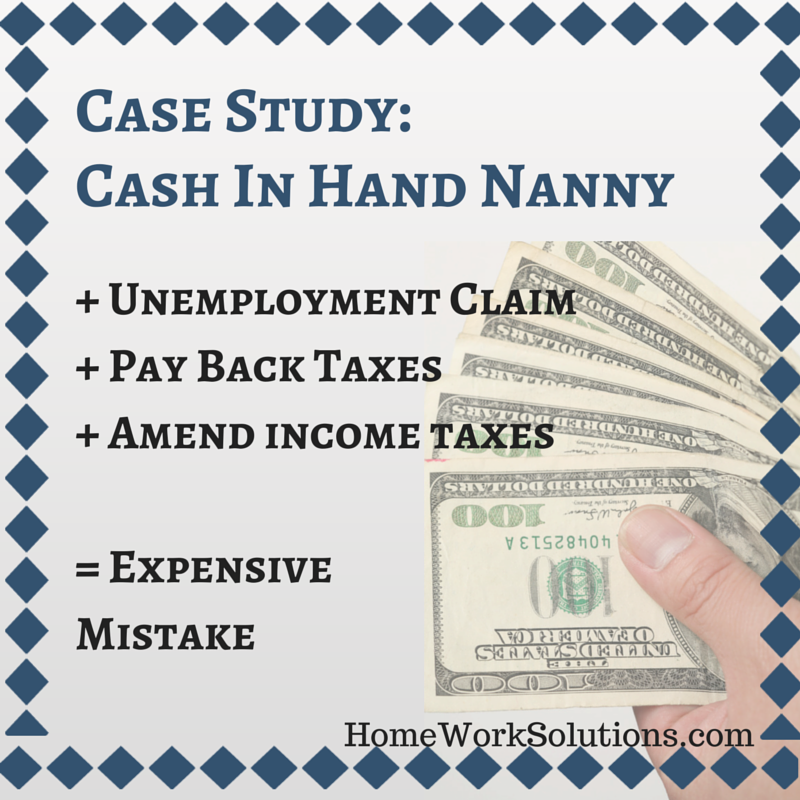 Case Study Cash In Hand Nanny