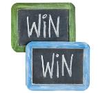 Win Win Sign