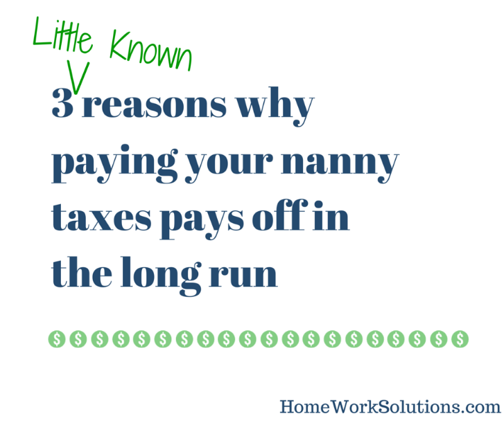 Homework solutions nanny tax
