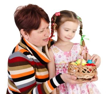 Easter Nanny Child