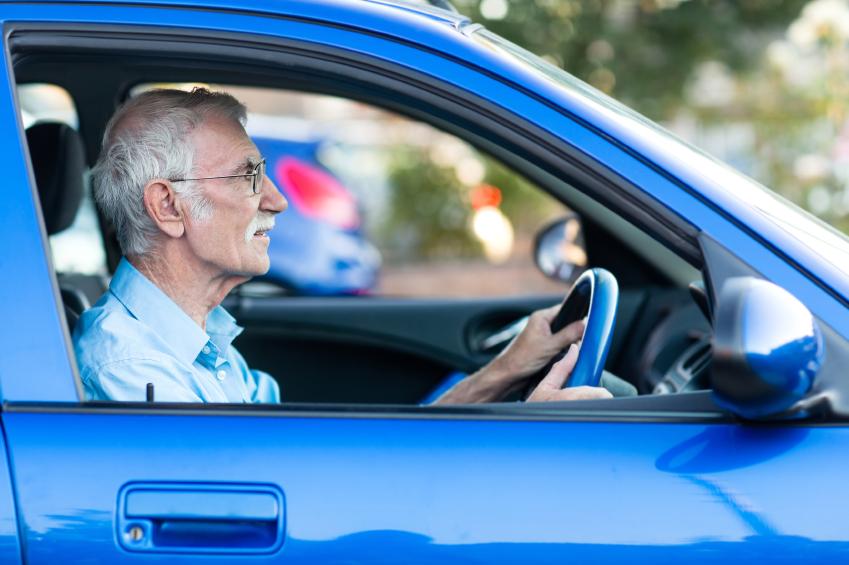 senior aging driving dementia