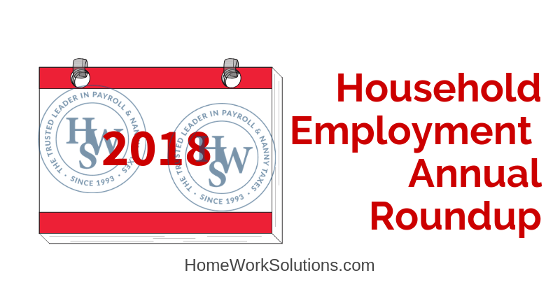 2018 Household Employment Roundup