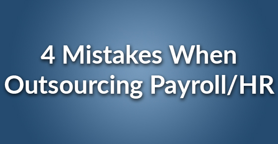 4 outsource mistakes