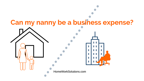 Can my nanny be a business expense_