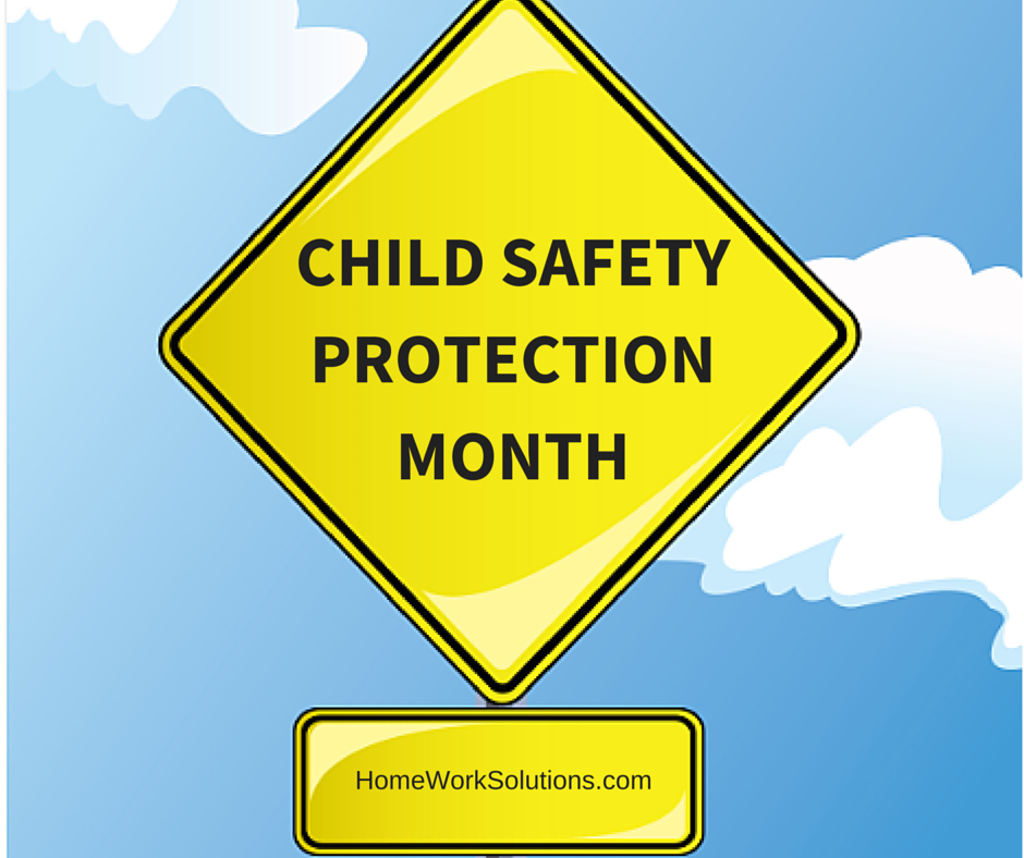 Child Safety Protection Month