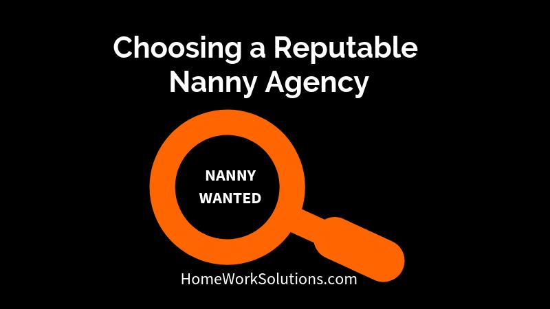 Choosing a Reputable Nanny Agency