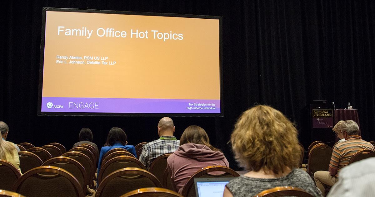 Family Office Hot Topics