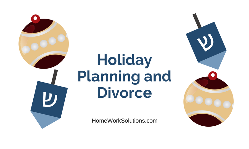 Holiday Planning and Divorce