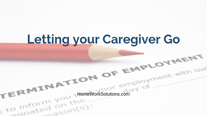 Letting your Caregiver Go