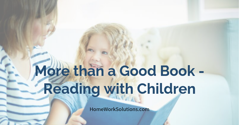 More than a Good Book - Reading with Children