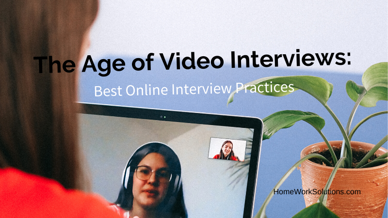 Nanny Video Job Interviews