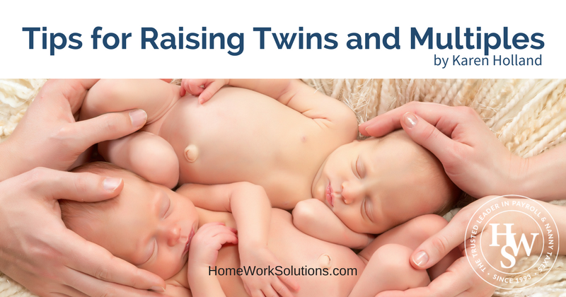 Tips for Raising Twins and Multiples