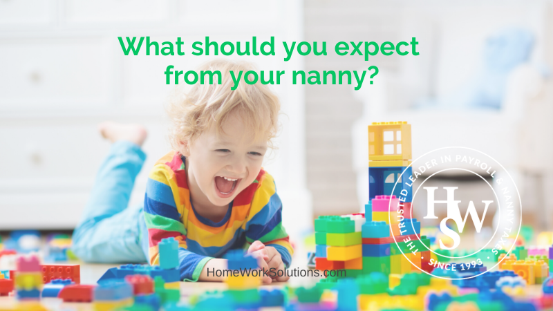 What should you expect from your nanny_