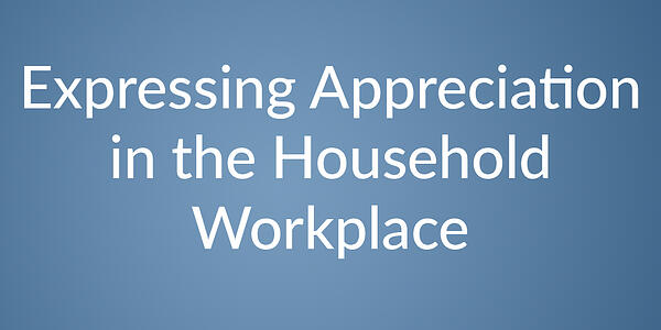 appreciation in HH workplace