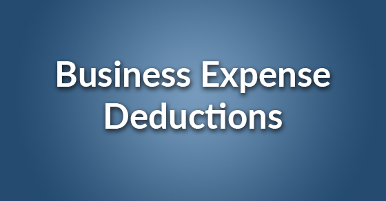 business expense deductions