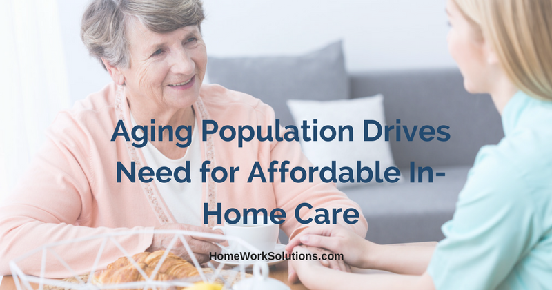 Aging Population Drives Need for Affordable In-Home Care