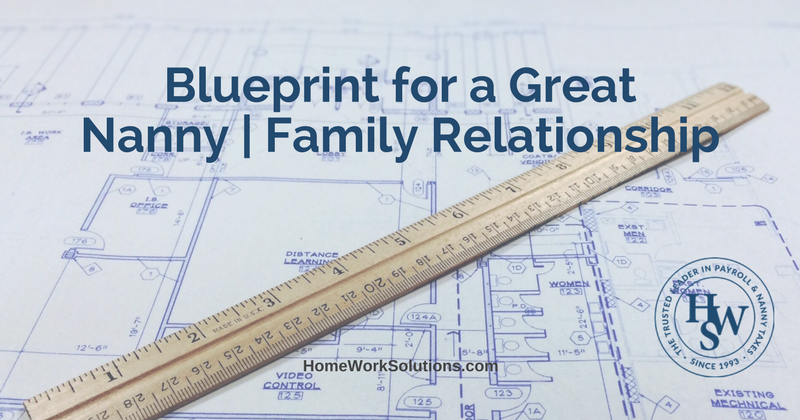 Blueprint for a Great Nanny Family Relationship