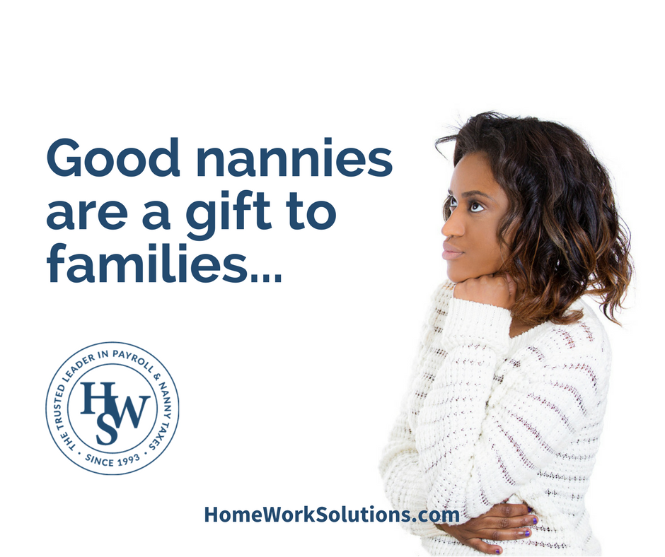 good nannies are a gift to families