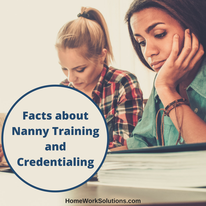 Facts About Nanny Training And Credentialing
