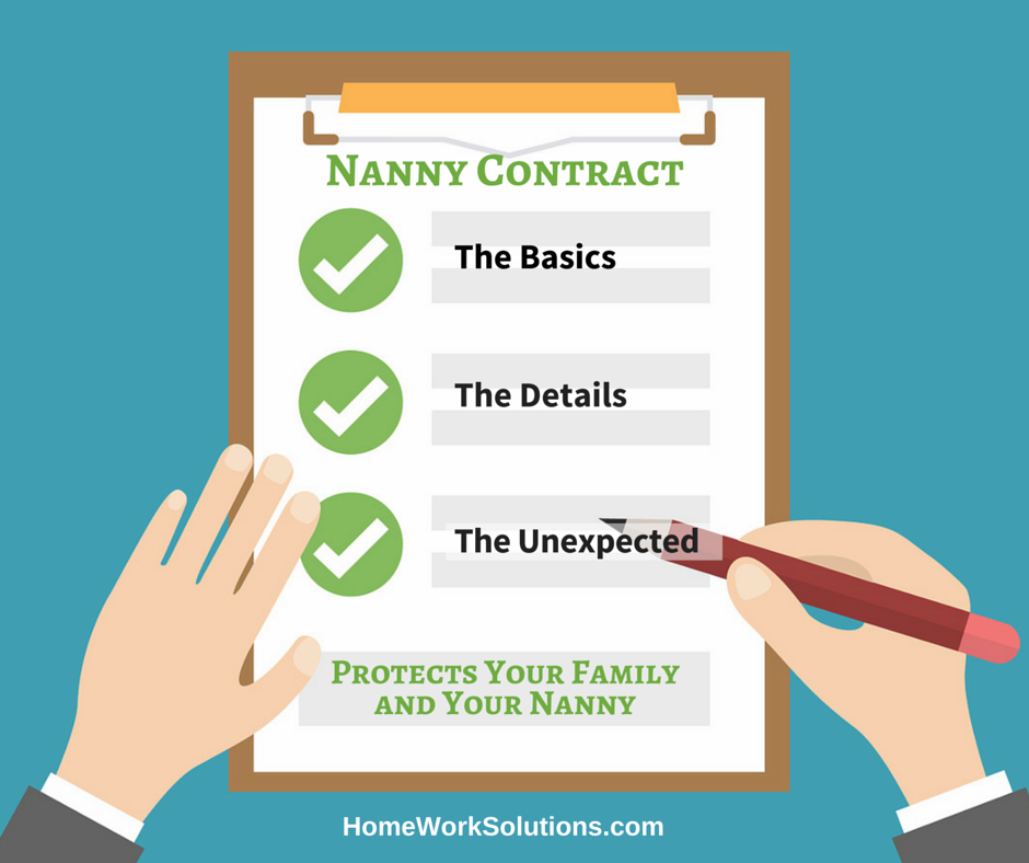 Household Employment Blog   Nanny Tax Information   nanny contract