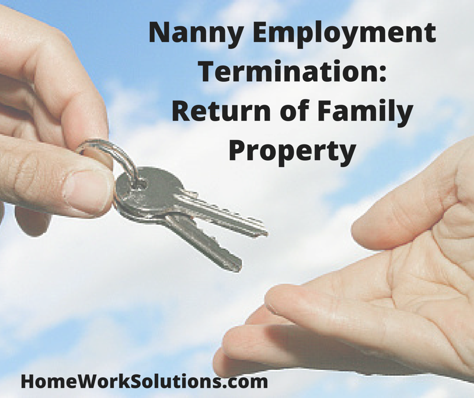 nanny return of family property