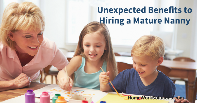 Unexpected Benefits to Hiring a Mature Nanny