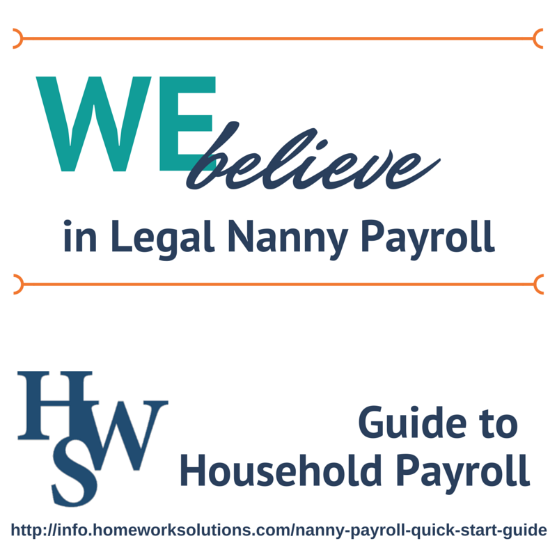 Homework solutions nanny payroll help with writing business plan