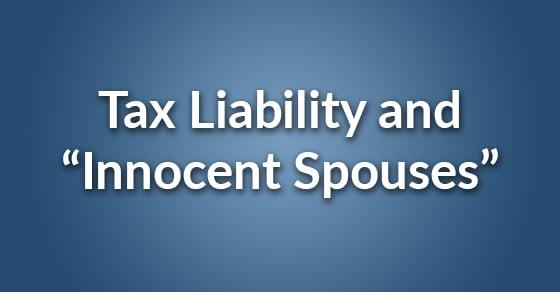 innocent spouses
