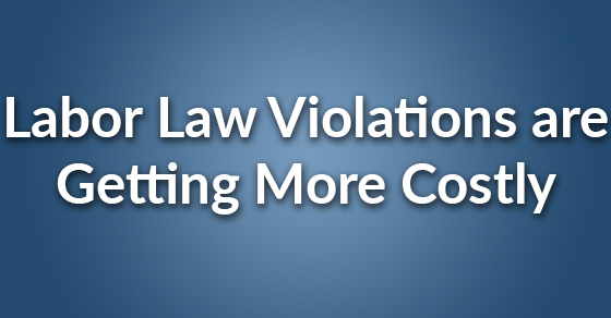 labor law violations