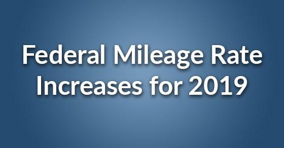 mileage rate increase