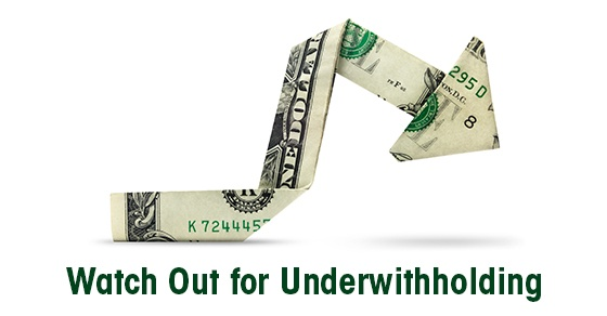 under withholding