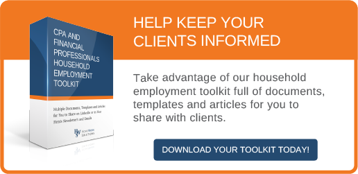 CPA and Financial Professionals Household Employment Toolkit