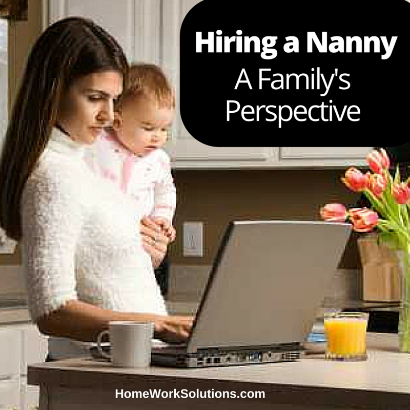 Homework solutions nanny pay
