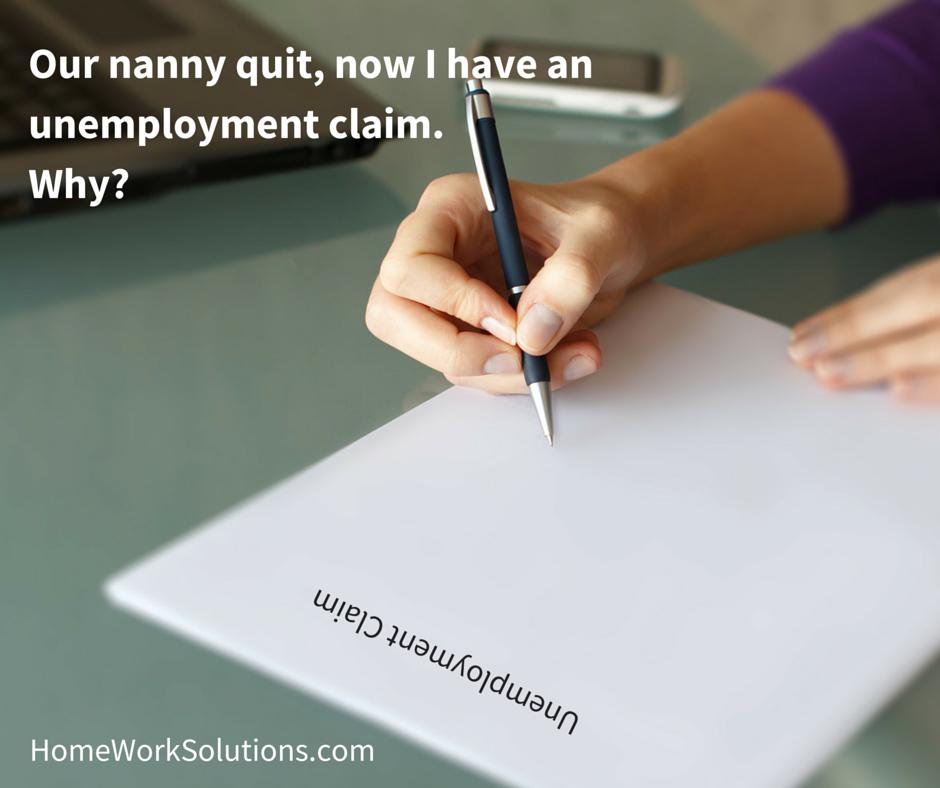 Q Our long term nanny quit two