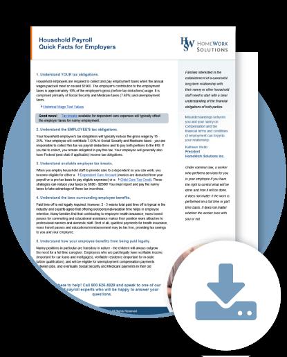New York Household Employment Fact Sheet